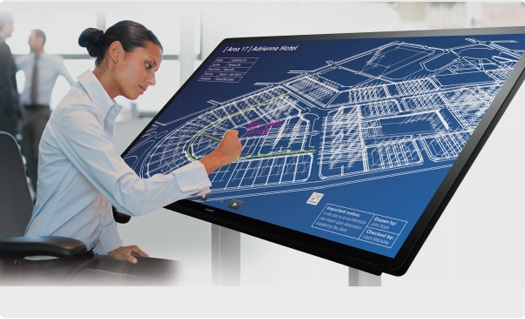 SHARP PN-C705B interactive display