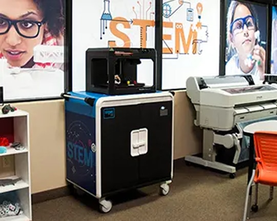 CCS Presentation Systems : stem cart