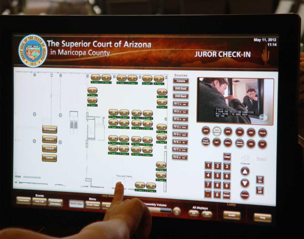 CCS Presentation Systems : court 2 1